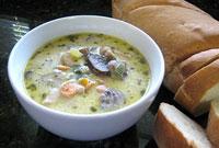 طرز تهیه سوپ قارچ و پیاز
