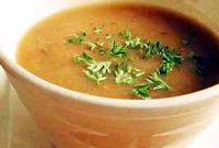 طرز تهیه سوپ باقلا زرد با عصاره ی مرغ